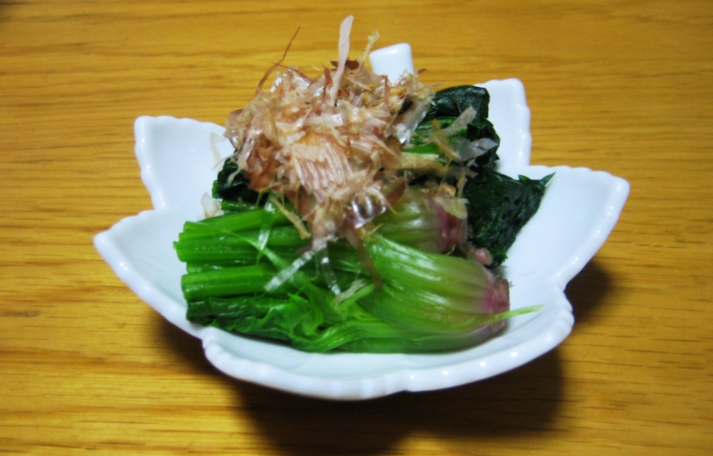 Simple spinach sald - Japanese Style