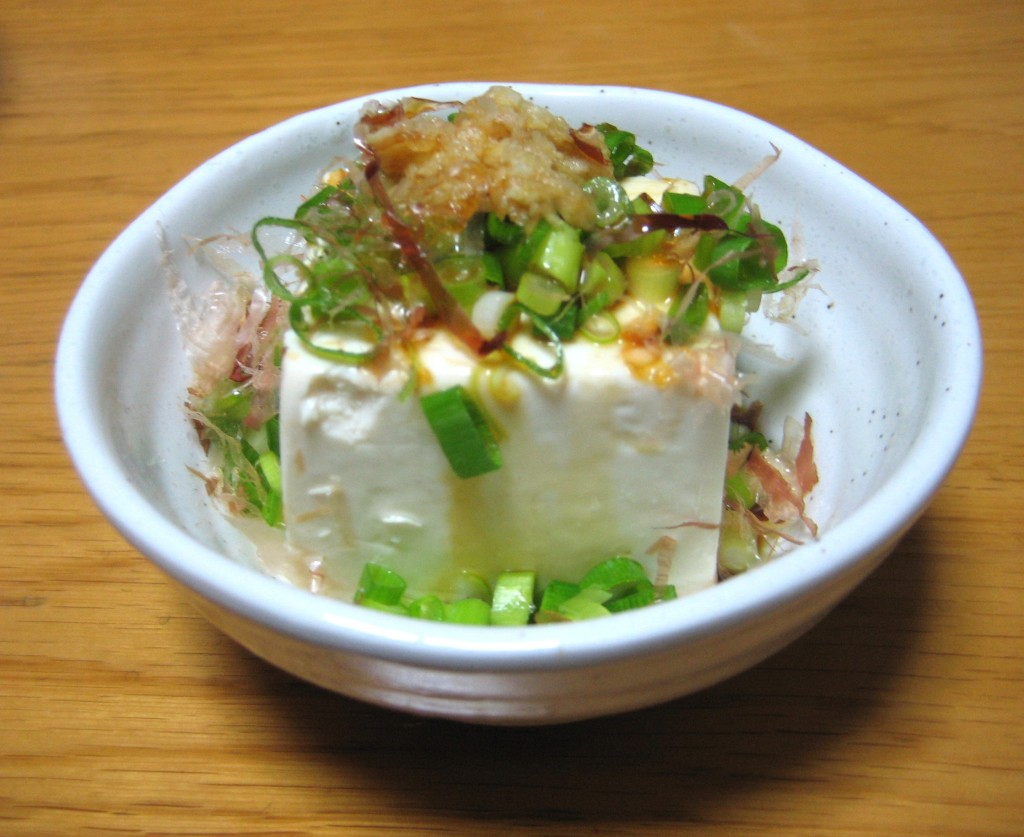 Japanese tofu food