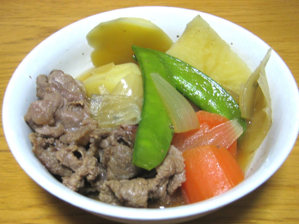Nikujaga, Japanese beef and potato stew