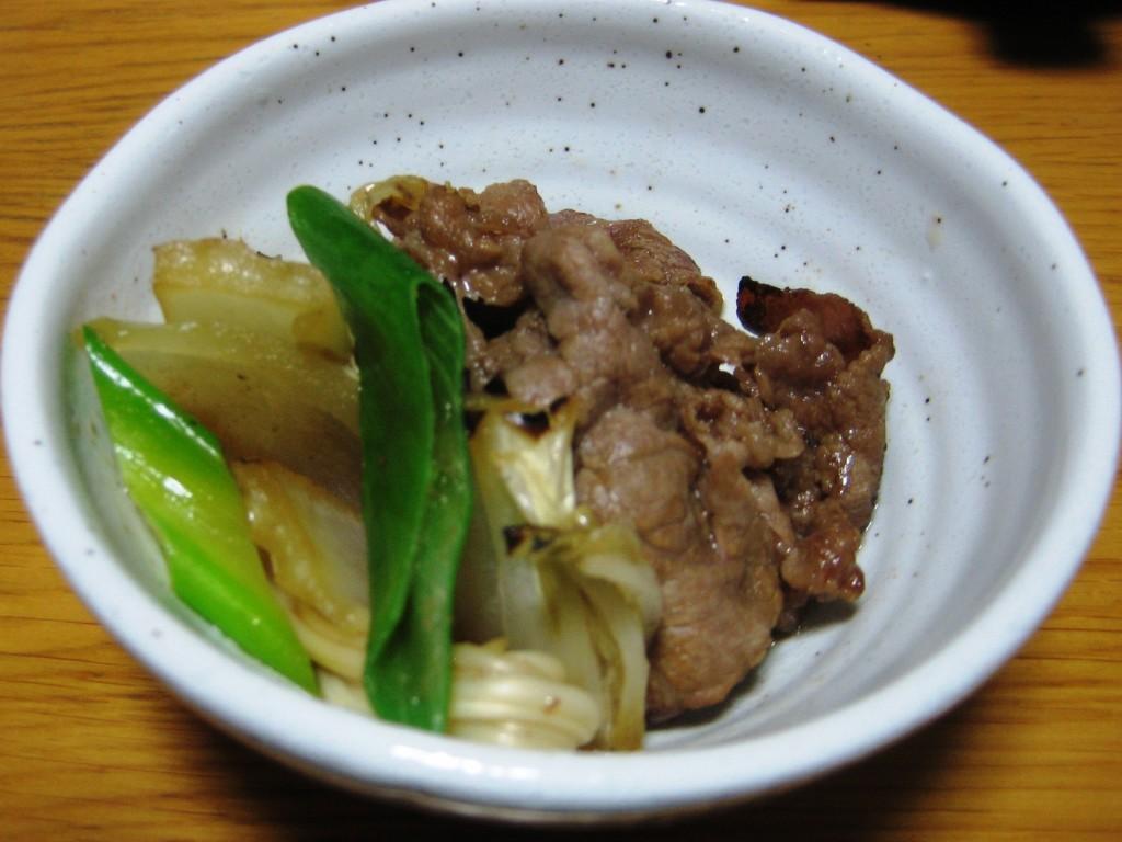 sukiyaki, a Japanese food