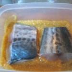 miso marinated spanish mackerel