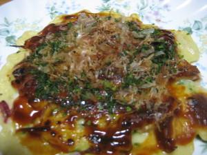 okonomiyaki, pork