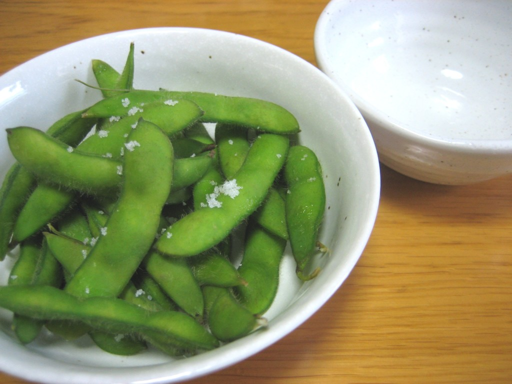 how to boil edamame