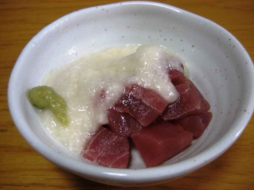 Maguro Yamakake, Tuna and Yam
