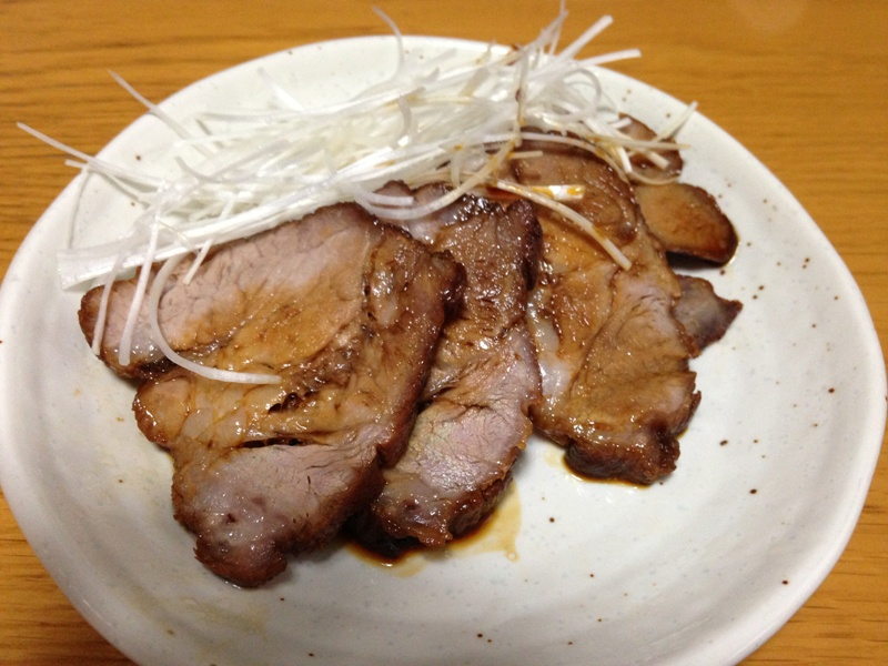Roast pork for ramen