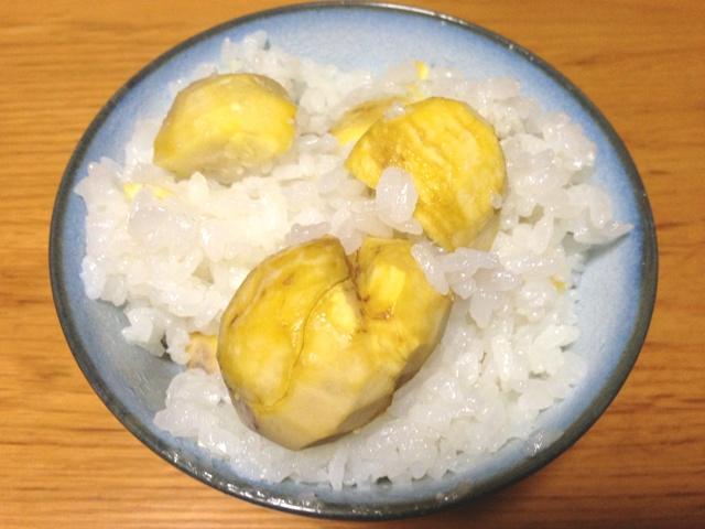 Chestnut Rice / Kuri Gohan