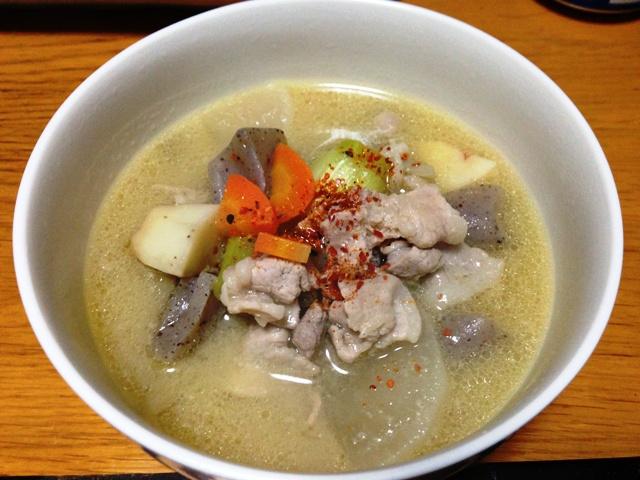 Pork Miso Soup / Tonjiru