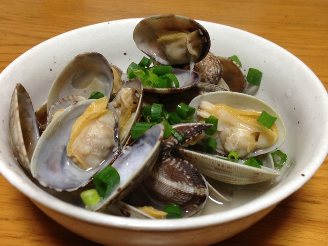 Steamed Clam with Japanese Sake