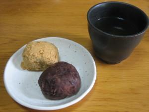 Japanese sweets, ohagi / botamochi