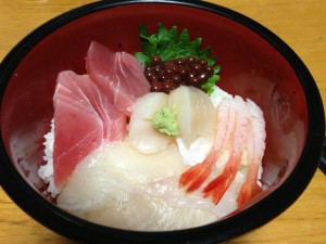 Kaisen Don / Sashimi Rice Bowl